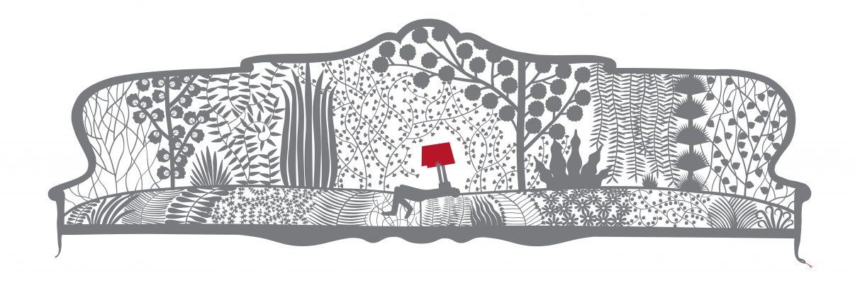 Pablo Amargo, La Plantación, Ilustración